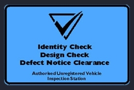 Authorised Inspection Station Blue Slip