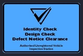 Authorised Inspection Station Blue Slip